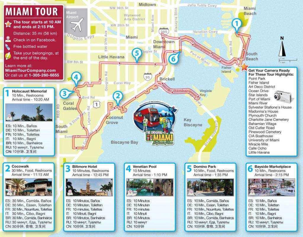 mapa de miami: conheça as regiões de miami e os melhores